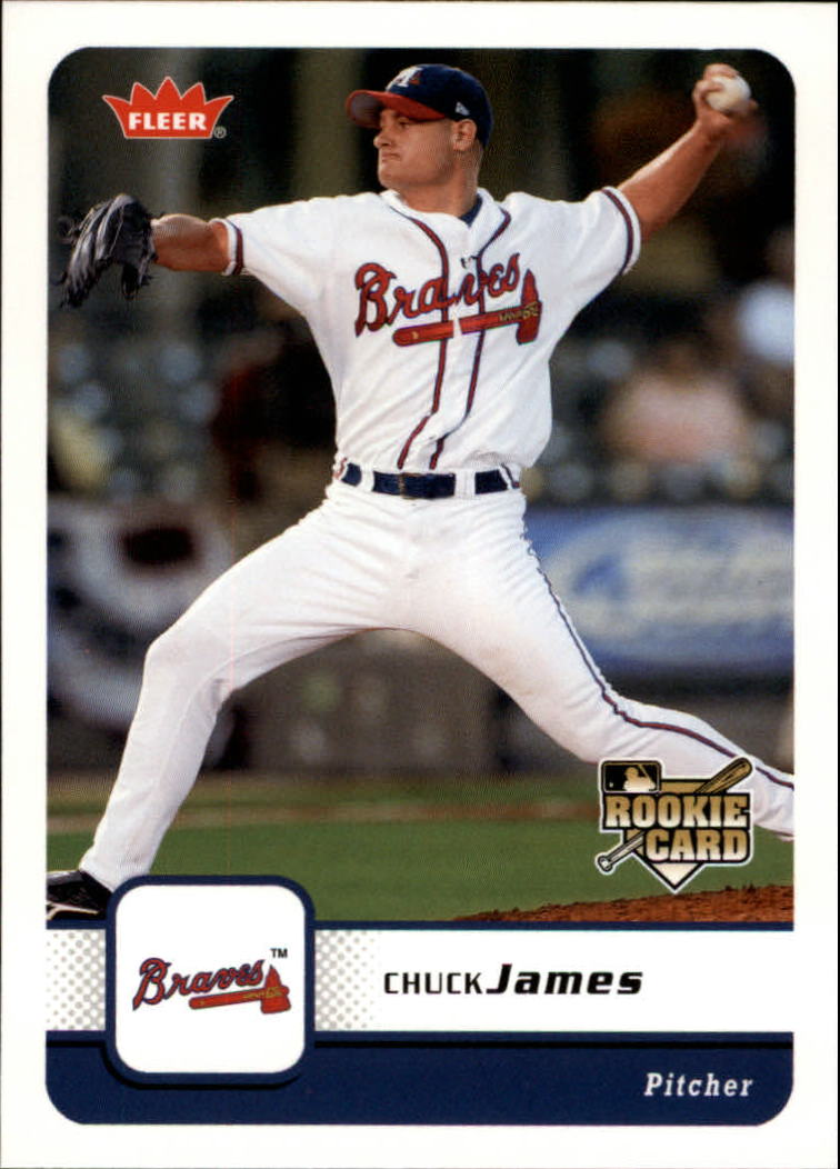 2006 Fleer #67 Chuck James (RC)