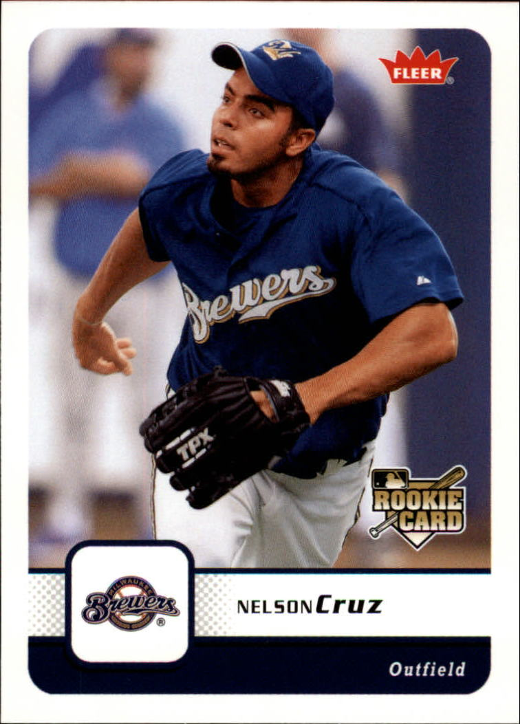 2006 Fleer #74 Nelson Cruz (RC)