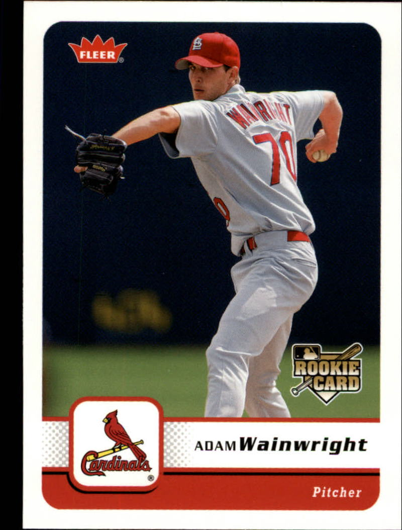 2006 Fleer #87 Adam Wainwright (RC)