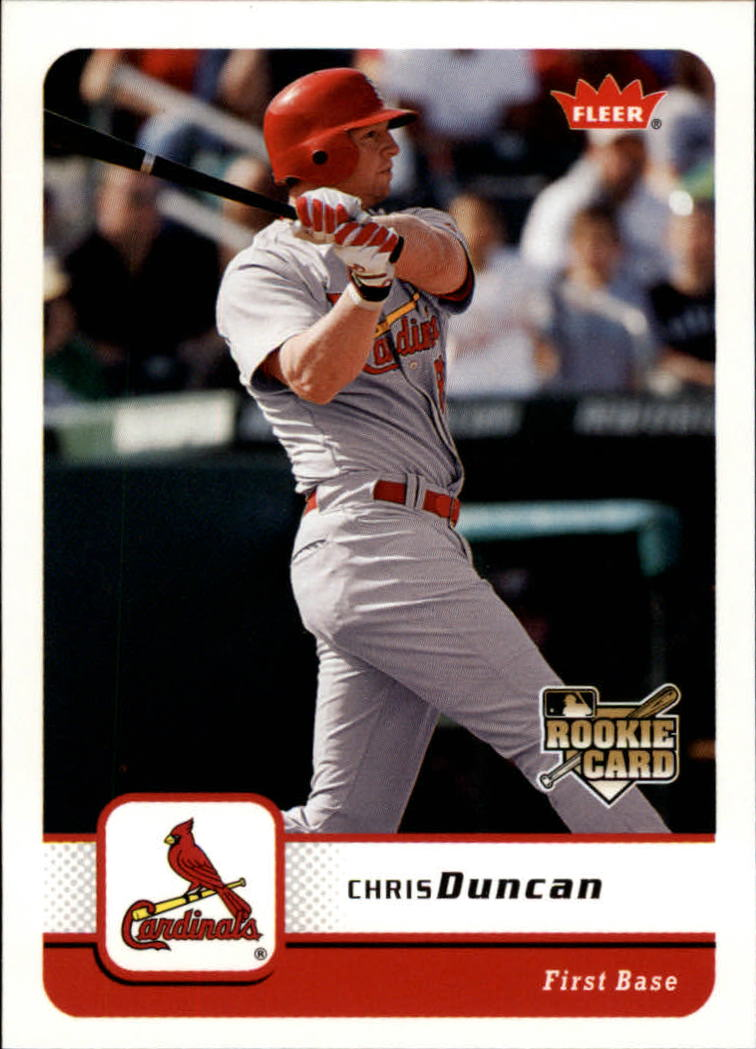2006 Fleer #89 Chris Duncan (RC)
