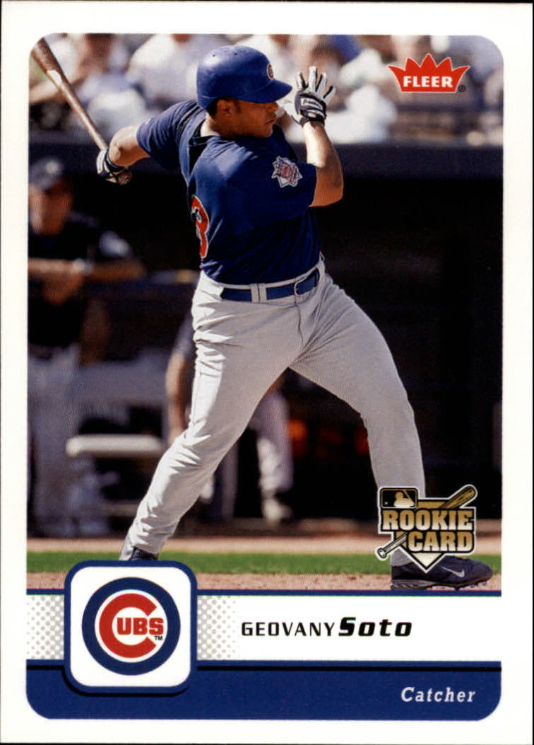 2006 Fleer #106 Geovany Soto (RC)
