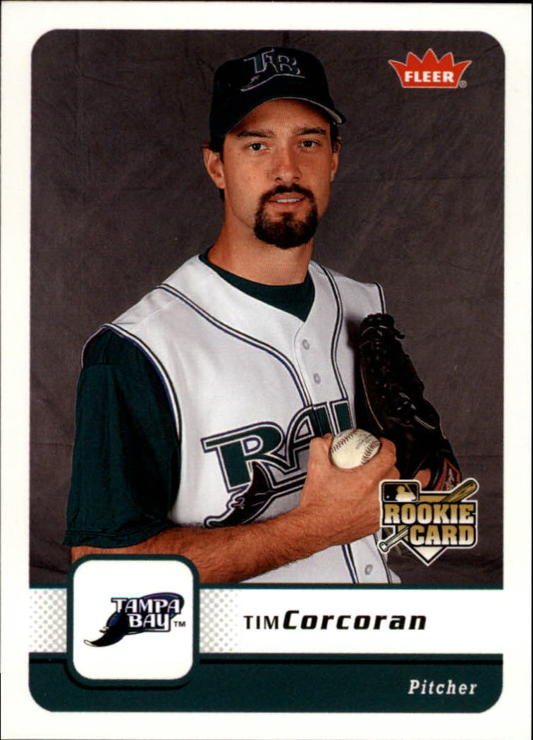 2006 Fleer #122 Tim Corcoran RC