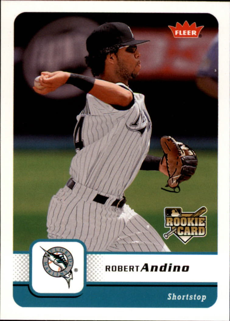 2006 Fleer #198 Robert Andino RC