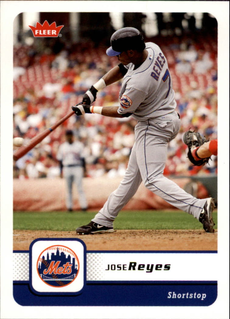 2006 Fleer #209 Jose Reyes