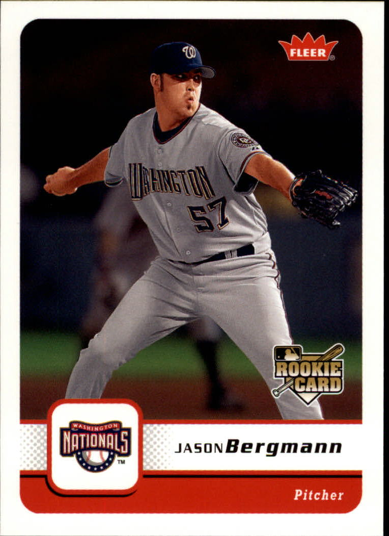2006 Fleer #221 Jason Bergmann RC