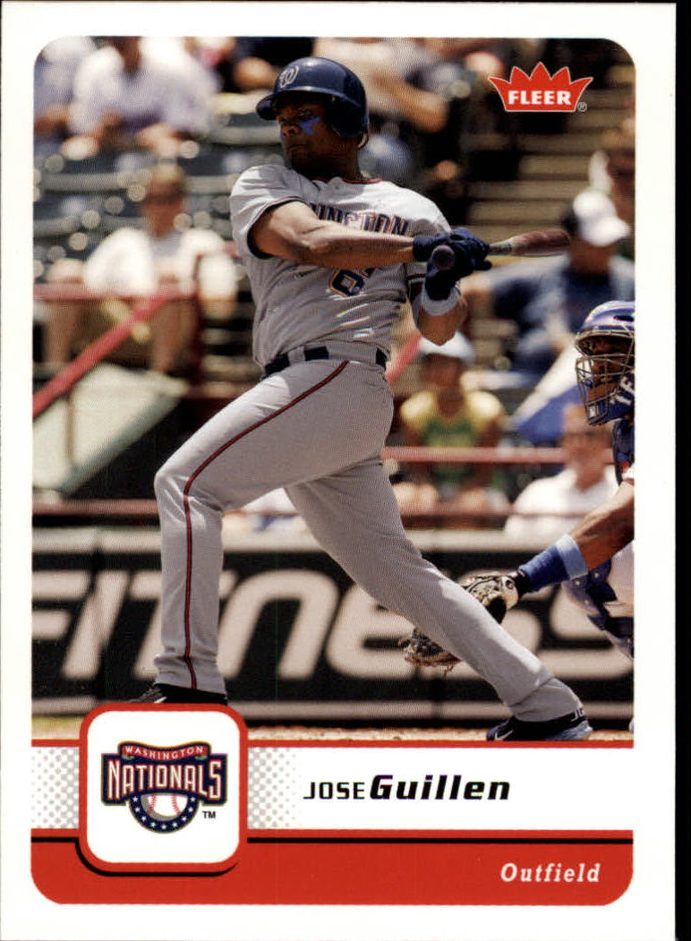 2006 Fleer #223 Jose Guillen