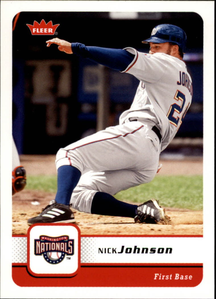 2006 Fleer #226 Nick Johnson