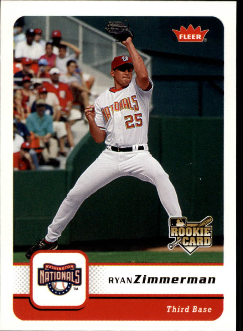 2006 Fleer #228 Ryan Zimmerman (RC)