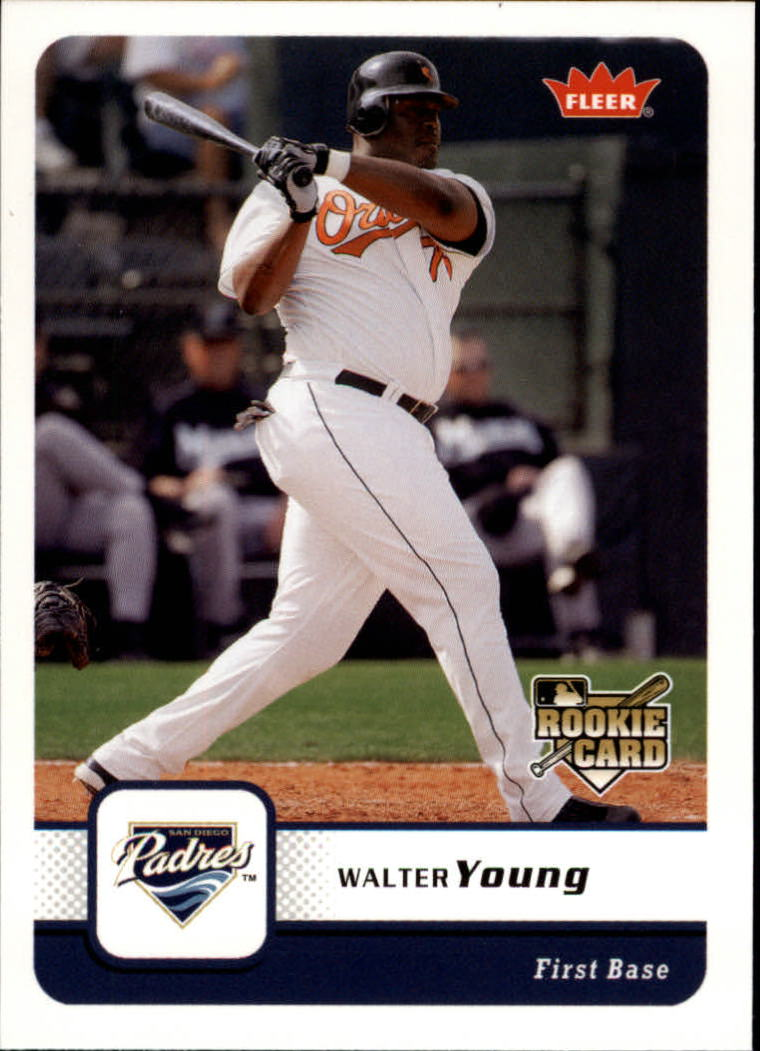2006 Fleer #233 Walter Young (RC)