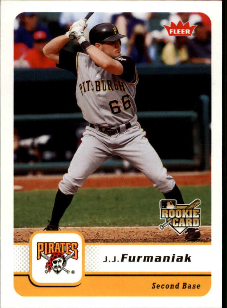 2006 Fleer #269 J.J. Furmaniak (RC)