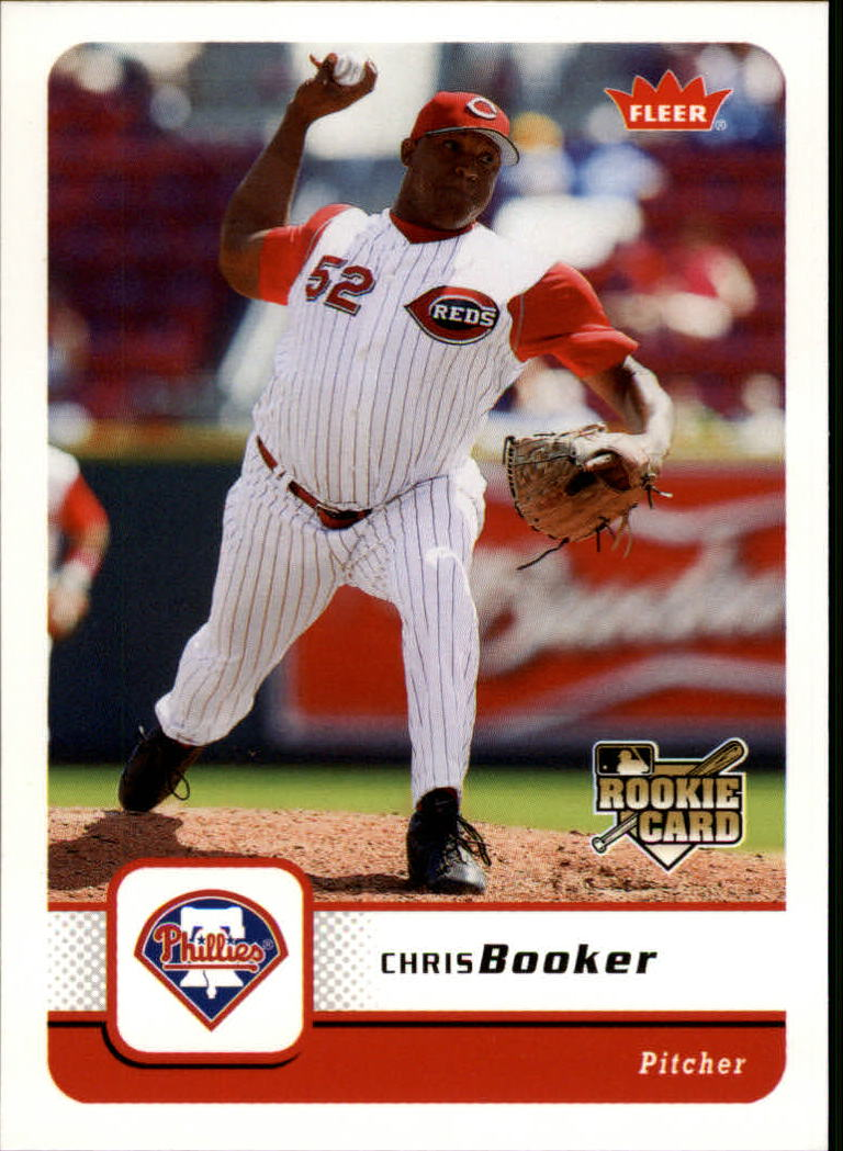 2006 Fleer #311 Chris Booker (RC)