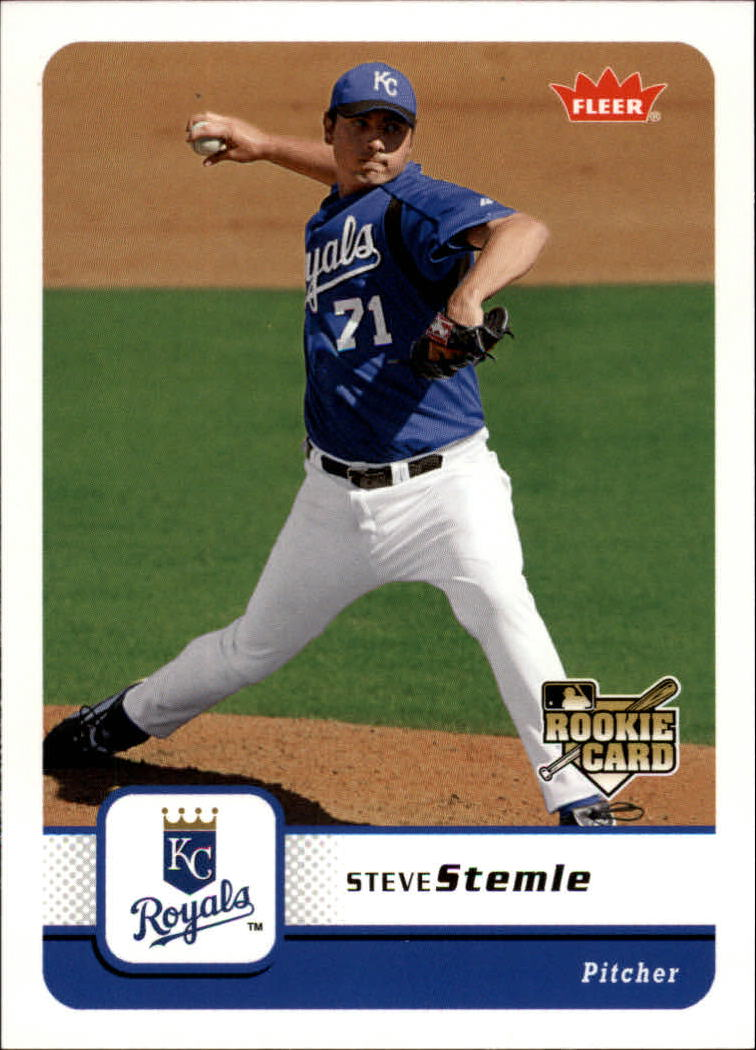 2006 Fleer #339 Steve Stemle RC