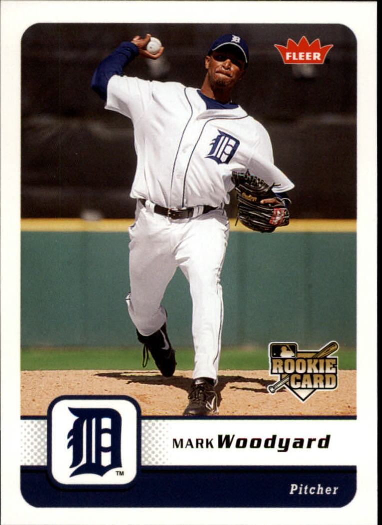 2006 Fleer #353 Mark Woodyard (RC)
