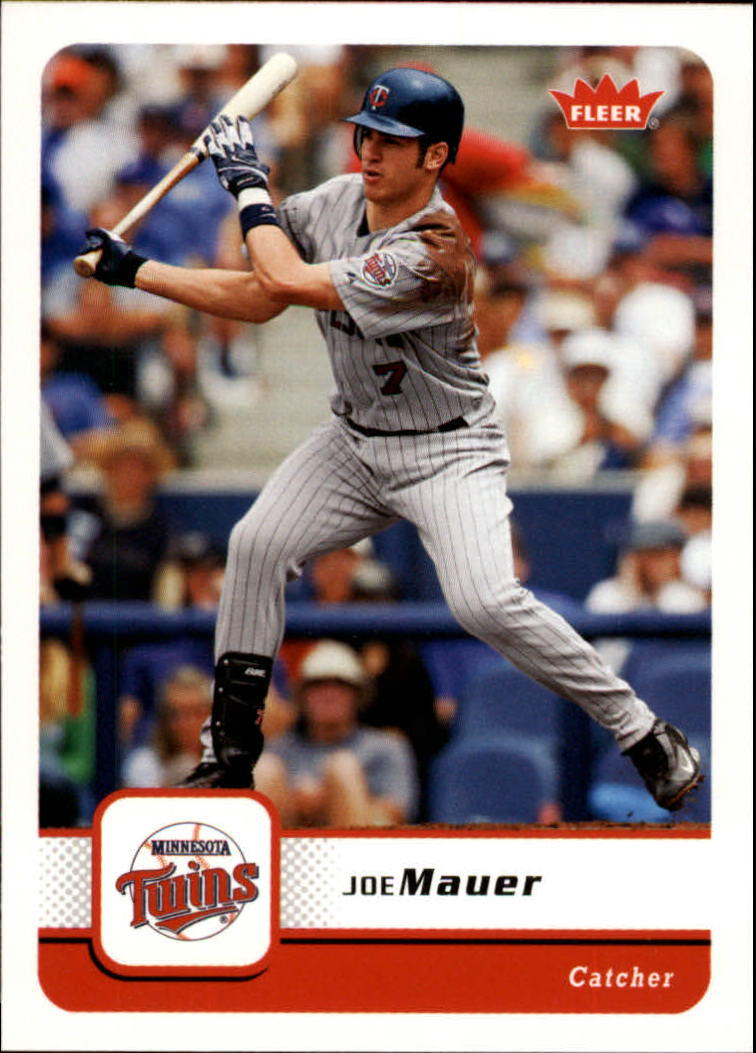 2006 Fleer #360 Joe Mauer