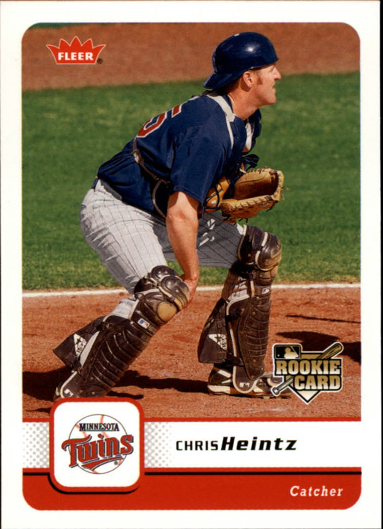 2006 Fleer #361 Chris Heintz RC