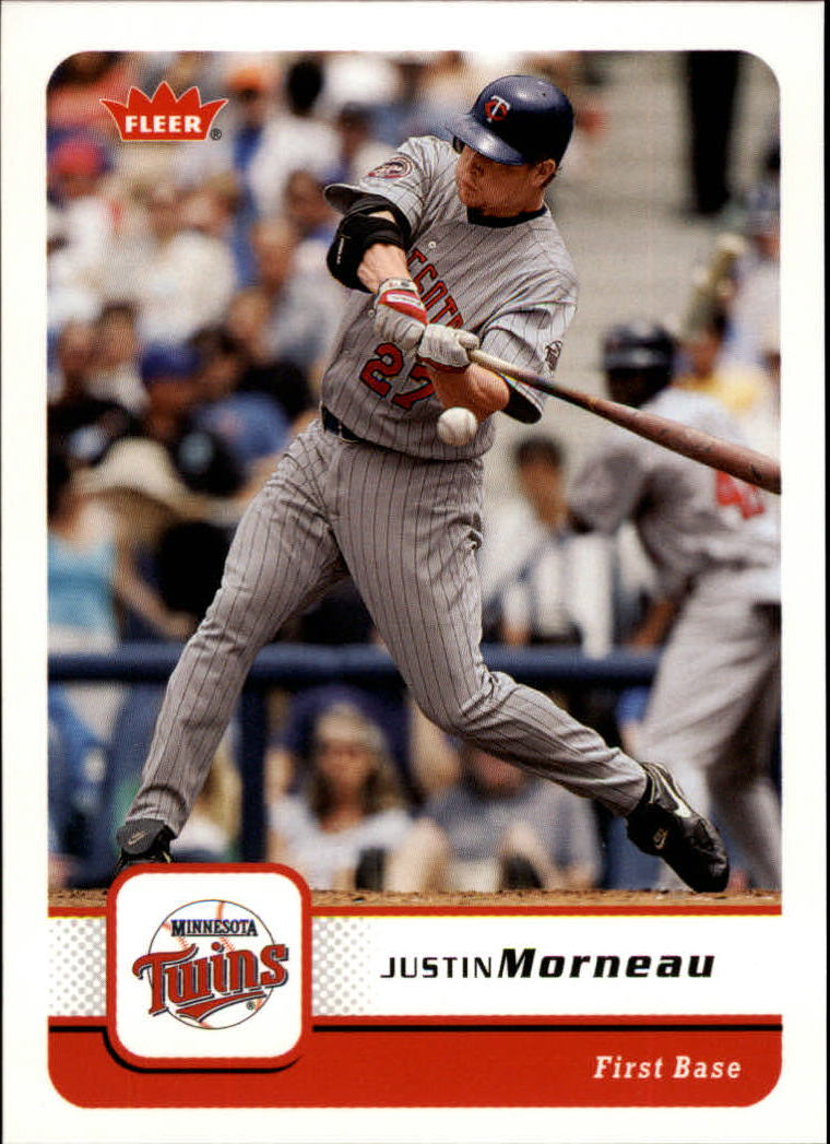 2006 Fleer #364 Justin Morneau