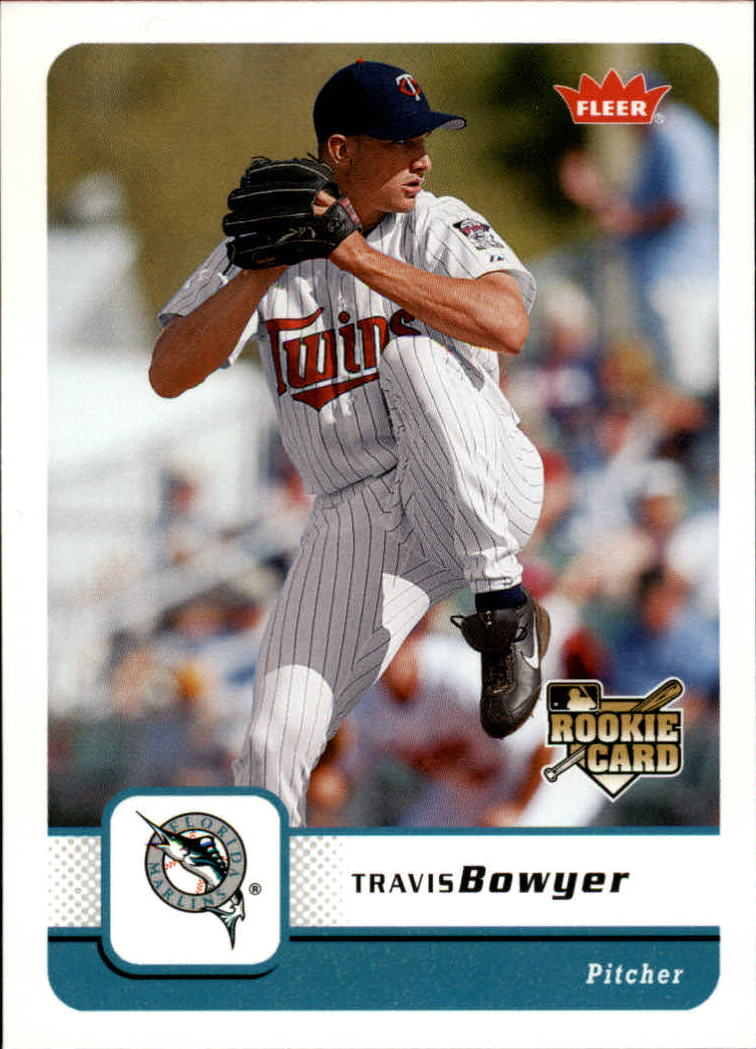 2006 Fleer #366 Travis Bowyer (RC)