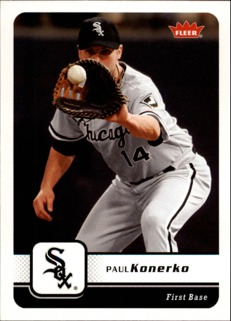 2006 Fleer #384 Paul Konerko front image