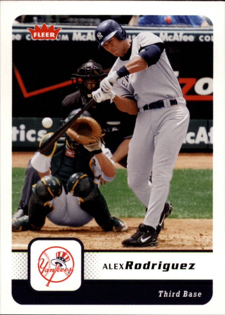 2006 Fleer #387 Alex Rodriguez