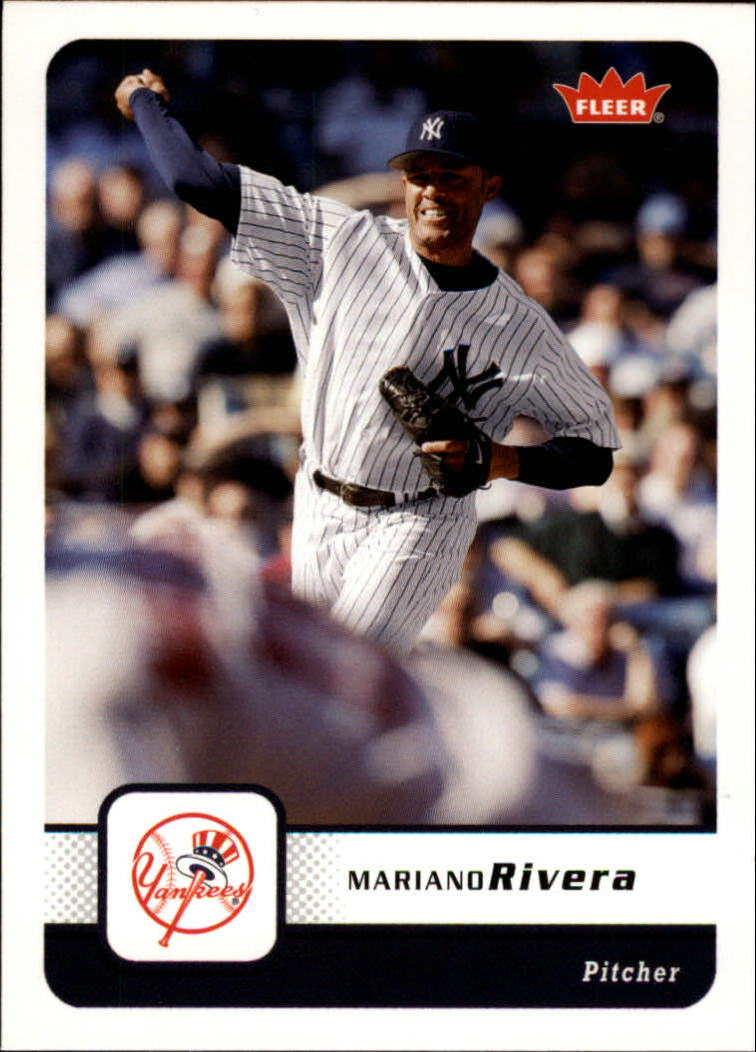 2006 Fleer #396 Mariano Rivera