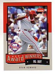 2006 Fleer Award Winners #AW5 Ryan Howard