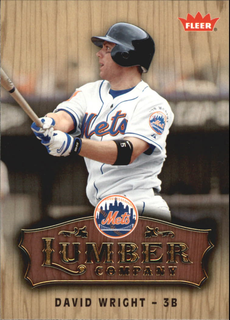 2006 Fleer Lumber Company #LC11 David Wright
