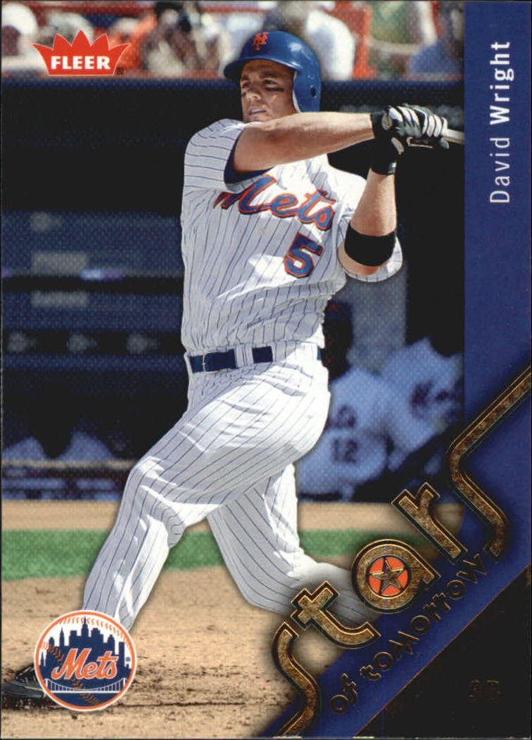 2006 Fleer Stars of Tomorrow #ST1 David Wright front image