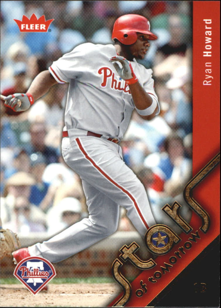 2006 Fleer Stars of Tomorrow #ST2 Ryan Howard