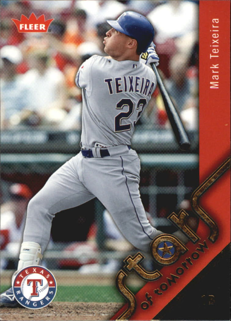 2006 Fleer Stars of Tomorrow #ST7 Mark Teixeira