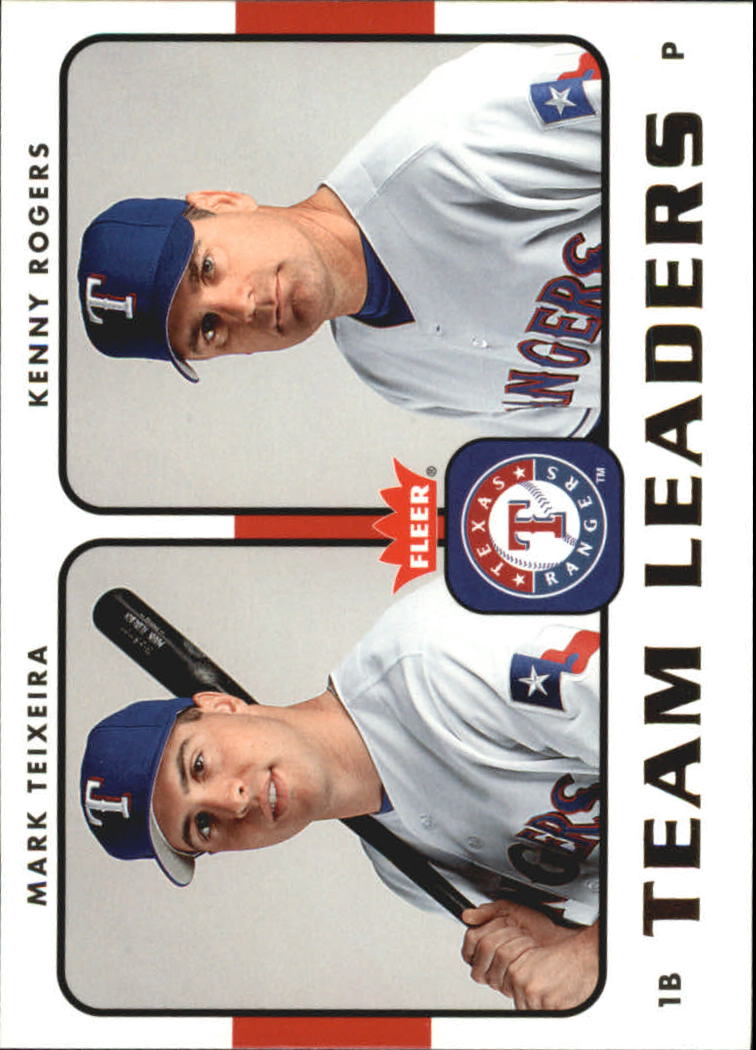 2006 Fleer Team Leaders #TL27 M.Teixeira/K.Rogers