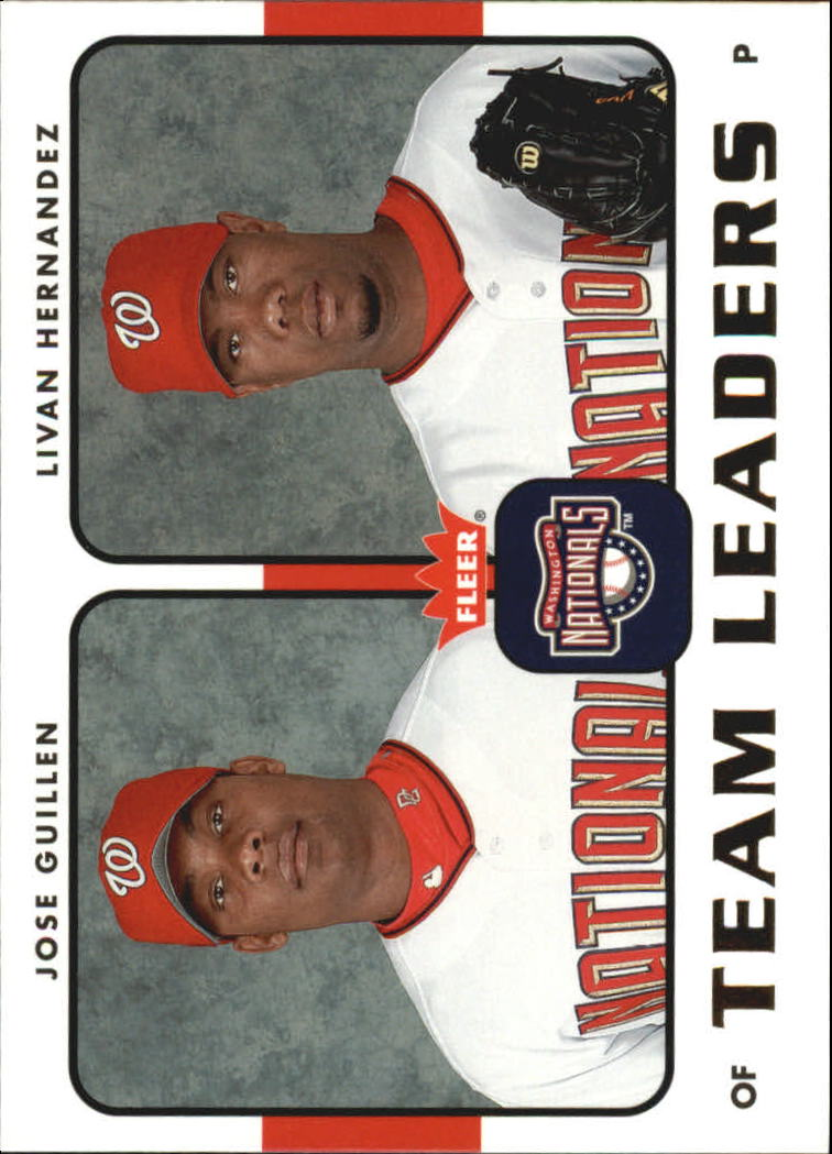 2006 Fleer Team Leaders #TL29 J.Guillen/L.Hernandez