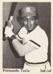 1975 Dubuque Packers TCMA #16 Fernando Tatis