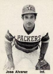 1976 Dubuque Packers TCMA #1 Jose Alvarez