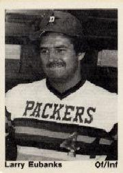 1976 Dubuque Packers TCMA #11 Larry Eubanks