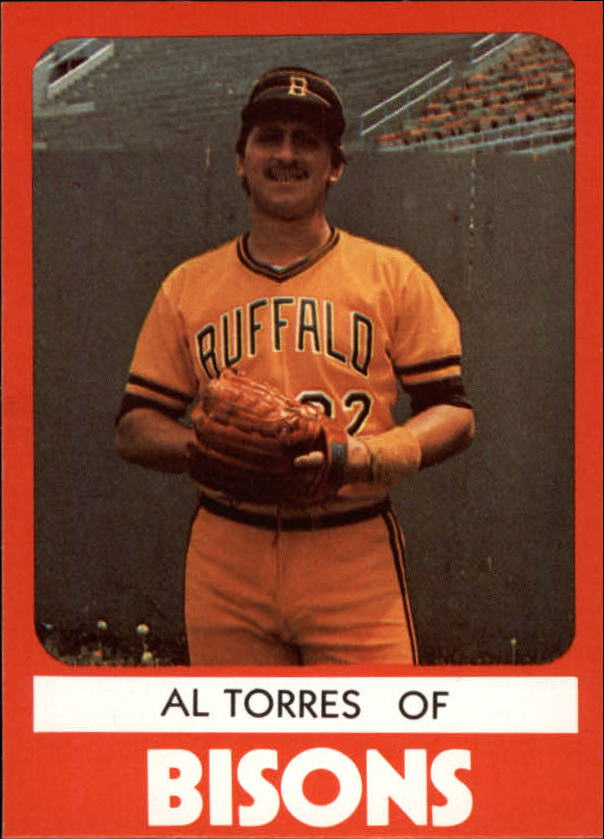 1980 Buffalo Bisons TCMA #13 Al Torres