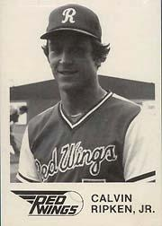 1981 Rochester Red Wings WTF #1 Cal Ripken Jr.