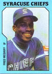 1985 Syracuse Chiefs TCMA #2 Fred McGriff