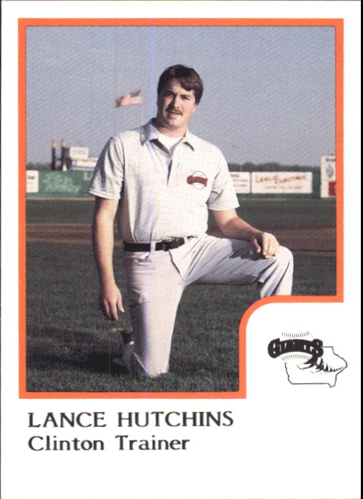1986 Clinton Giants ProCards #NNO Lance Hutchins