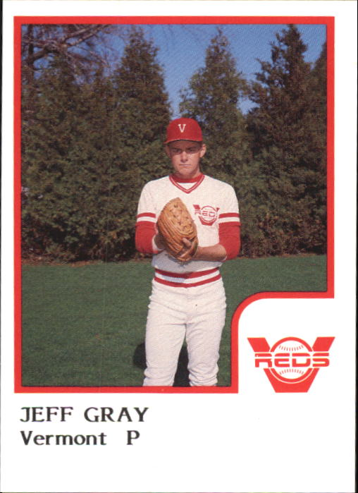 1986 Vermont Reds ProCards #8 Jeff Gray