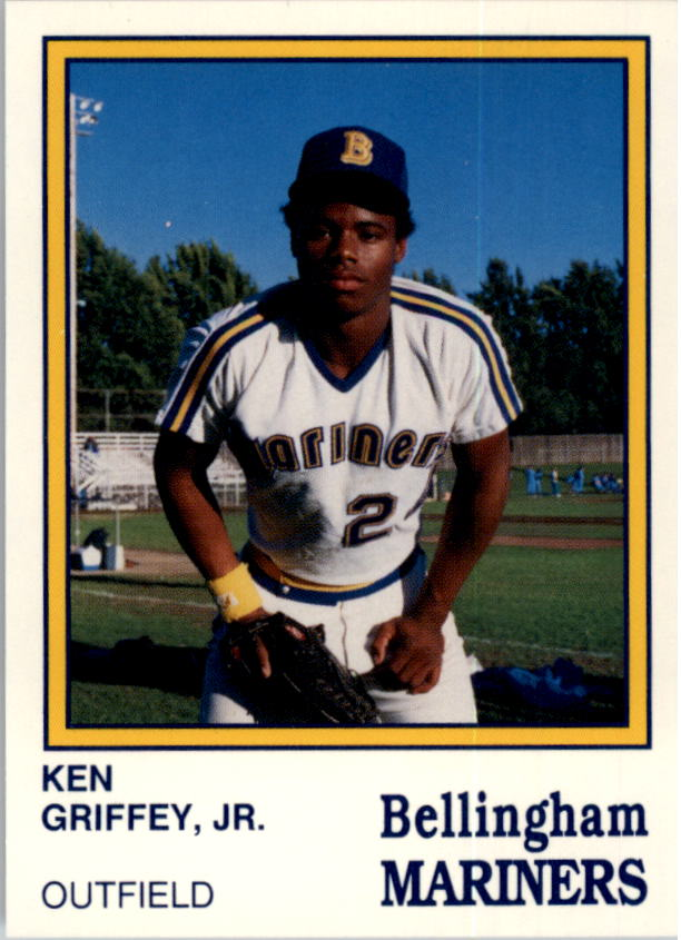 1987 Bellingham Mariners Team Issue #15 Ken Griffey Jr.