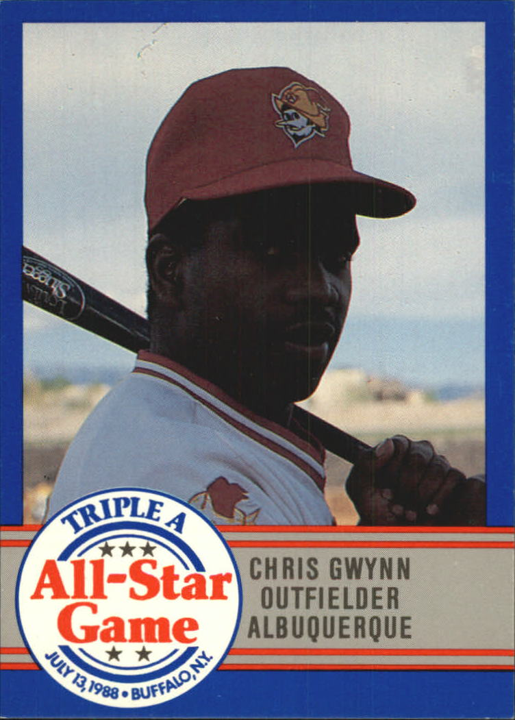 1988 Triple A All-Stars ProCards #2 Chris Gwynn