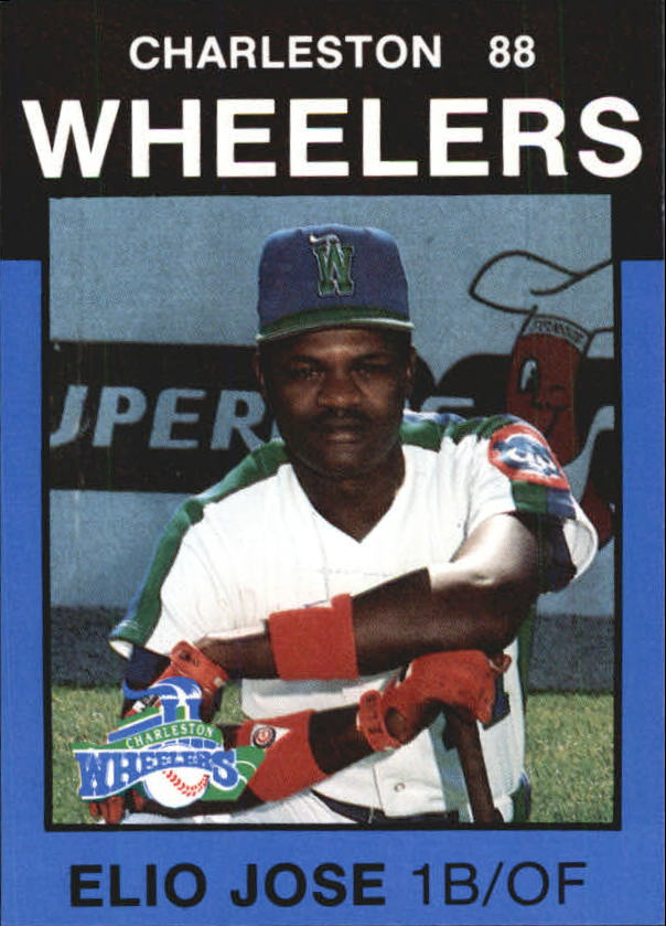 1988 Charleston Wheelers Best #23 Elio Jose