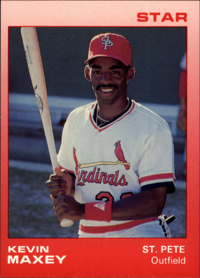 1988 St. Petersburg Cardinals Star #17 Kevin Maxey
