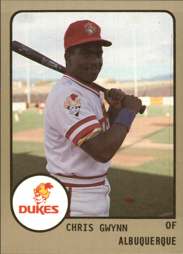 1988 Albuquerque Dukes ProCards #259 Chris Gwynn