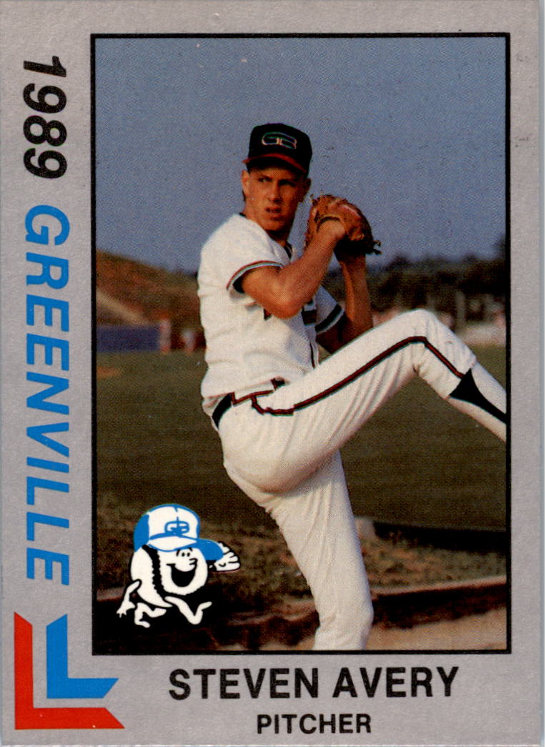 1989 Greenville Braves Best Ltd Ed #28 Steve Avery