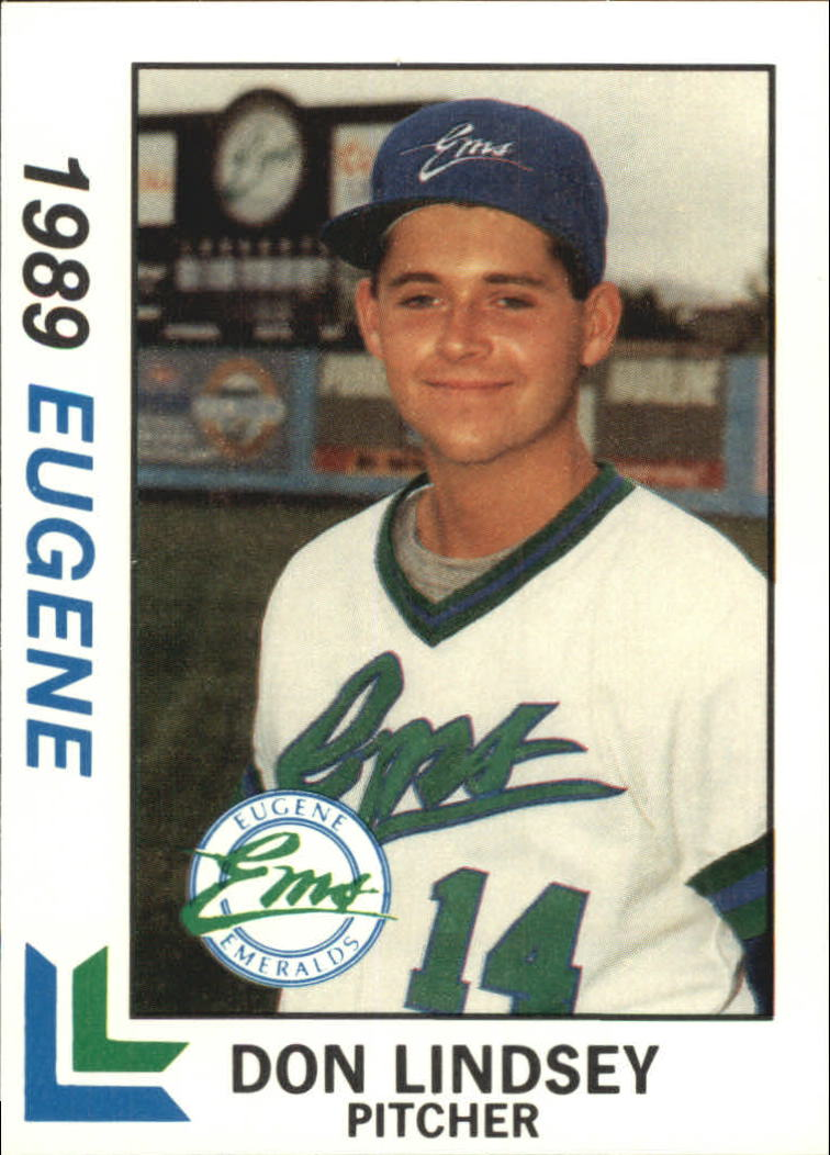 1989 Eugene Emeralds Best #5 Don Lindsey