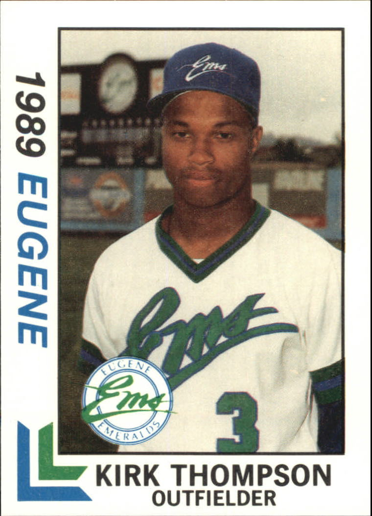 1989 Eugene Emeralds Best #10 Kirk Thompson