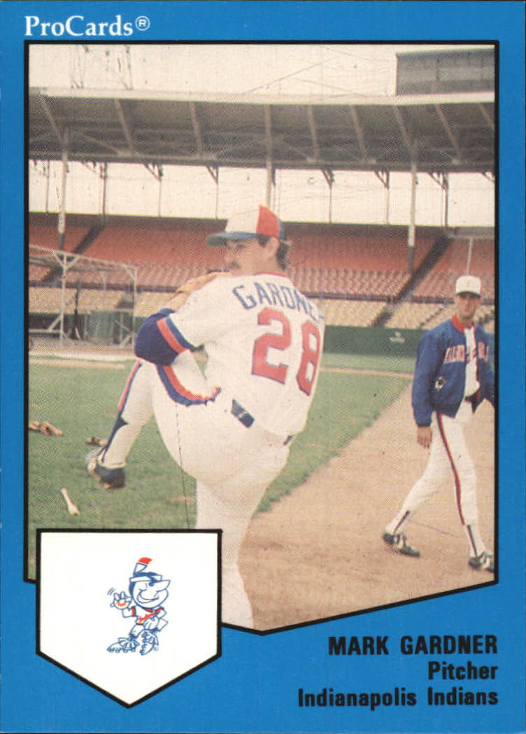 1989 Indianapolis Indians ProCards #1224 Mark Gardner