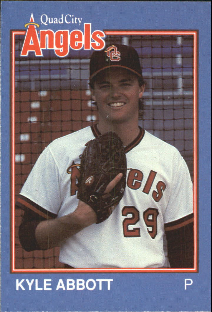1989 Quad City Angels Grand Slam #13 Kyle Abbott
