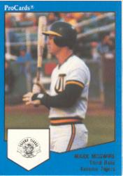 1989 Tacoma Tigers ProCards #1537 Mark McGwire